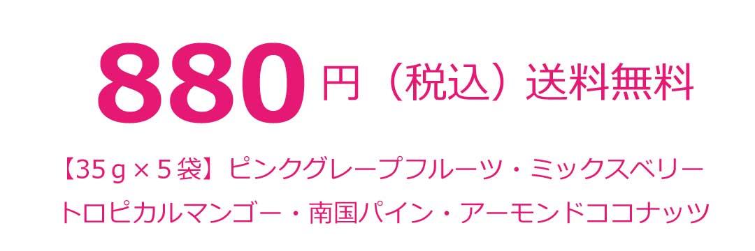 880円送料無料